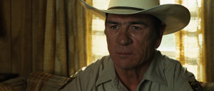 Tommy Lee Jones no Country For Old Men